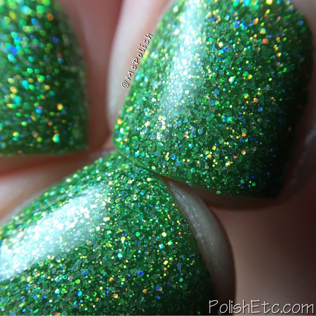 KBShimmer - Mega Flame Collection - McPolish - Smells Like Green Spirit