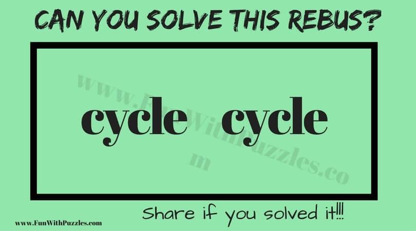 1 Simple Rebus Puzzle