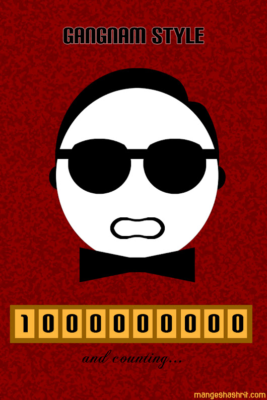 PSY Gangnam Style hits 1 billion views on You Tube | The Creative Godown