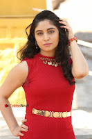 Telugu Actress Zahida Sam Latest Pos in Red Gown at RF Films New Movie Opening  0018.JPG