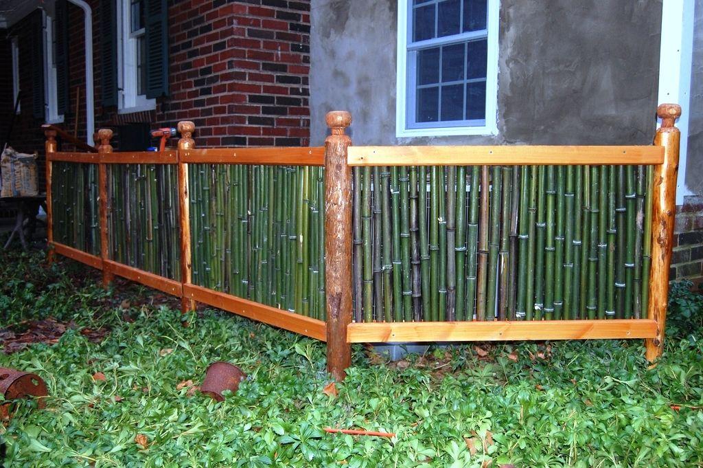 Desain Pagar Bambu Minimalis Modern