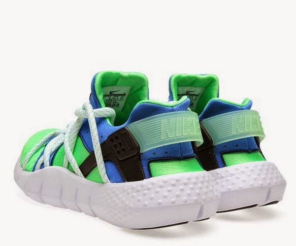 Here is a detailed look at the Nike Air Huarache NM  Scream Green  Sneaker  Available Now HERE  a194eb4c8
