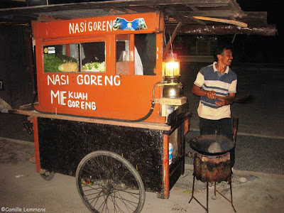 Sanur, Bali, Indonesia, Nasi Goreng on wheels
