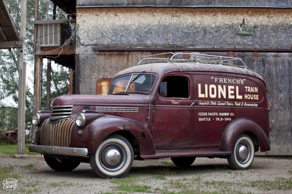 Van Chevrolet Kc >> My 1928 Chevrolet: 1946 Chevy Panel Van