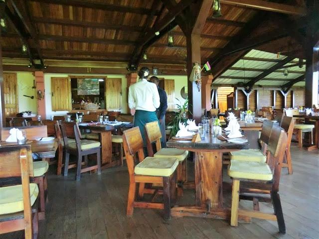 Restaurant Varangue sur Morne Mauritius