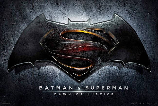 Cartel promocional de Batman v Superman