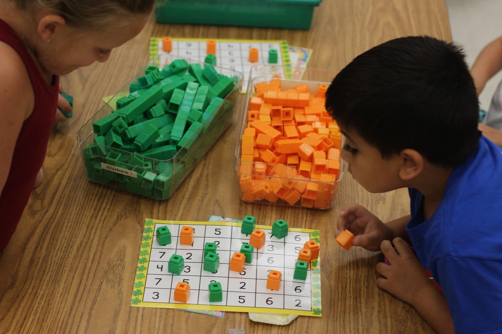 Kindergarten Smiles Math Centers In Kindergarten