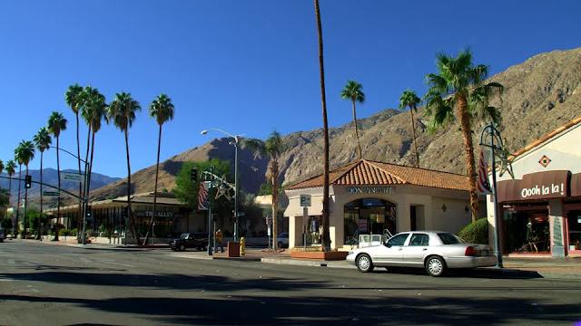 Como e onde alugar um carro bom e barato em Palm Springs na Califórnia