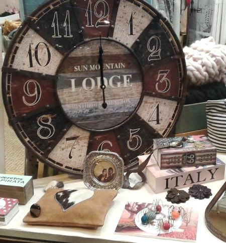 Reloj vintage de pared redondo grande