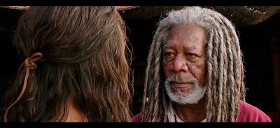 El pelazo que luce el bueno de Morgan es muy épico xD.