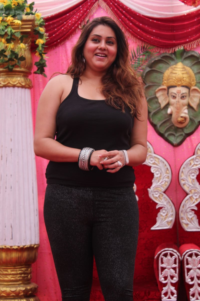 Namitha At Js Paradise Family Marriage Hall Launch Photo -3641