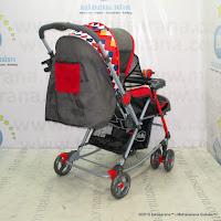 Pliko PK268R Grande-Red Standard Baby Stroller