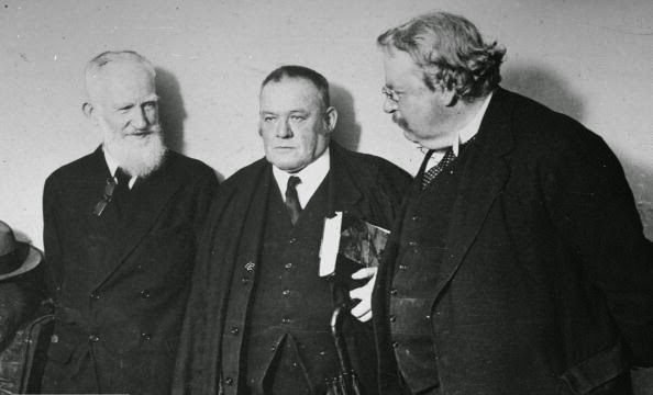 Chesterton Shaw Belloc