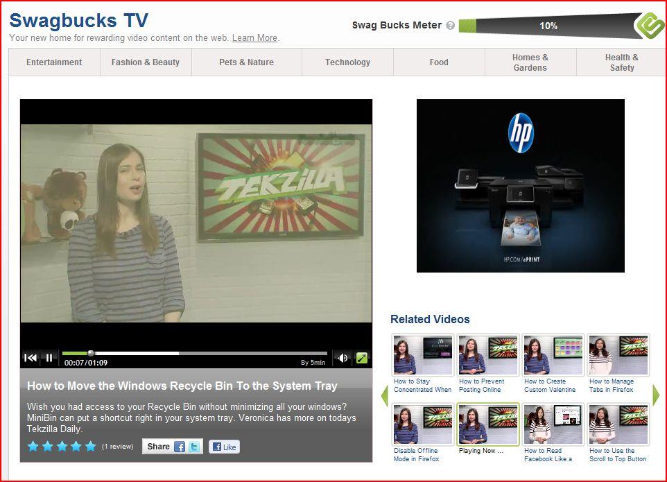 Swagbucks: How to use Swagbucks TV + Tips | Free Cash For Life