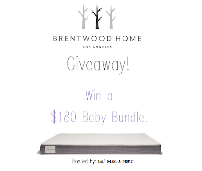 Enter the Brentwood Home Baby Bundle Giveaway. Ends 2/12