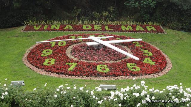 Relógio de Flores - Viña del Mar, Chile