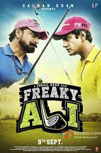 Freaky Ali 2016 Hindi 300MB DVDScr XviD