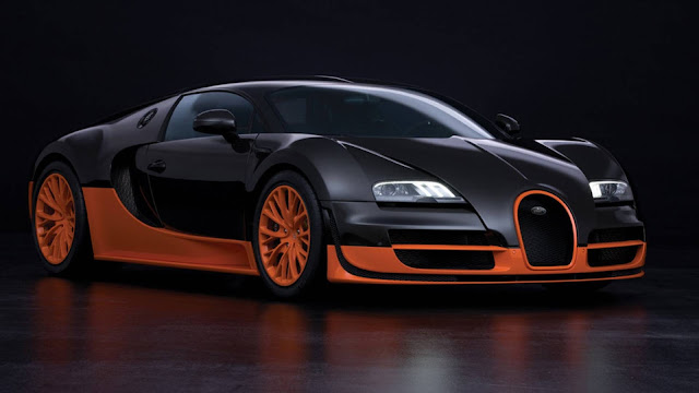 Super coche Bugatti Veyron