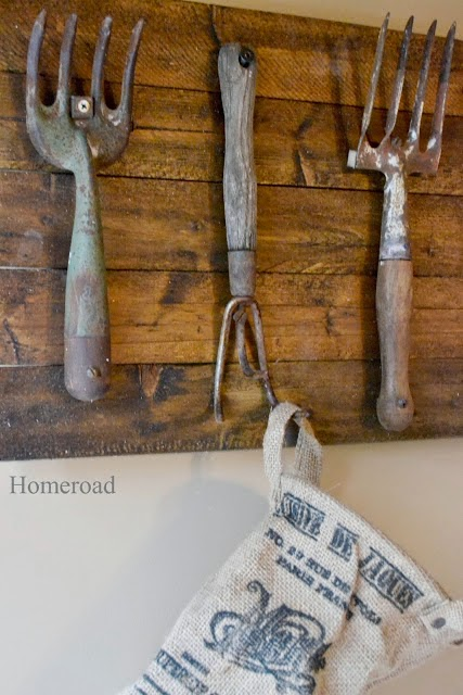 How to Make Hooks From Vintage Rakes