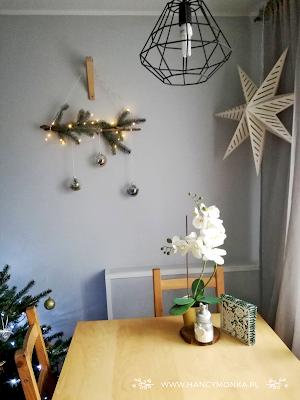 stroik świąteczny, diy, zrób to sam, zrób to sama mamo, stroik, christmas decoration, christmas countdown, świąteczne dekoracje, wystrój świąteczny, choinka, dom, home decor, hancymonka, pomysły na dekoracje
