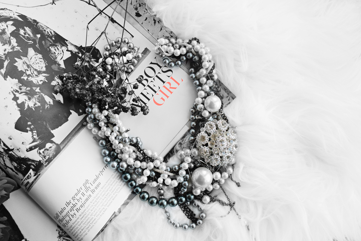 Victorian Statement Necklace by Quiet Lion Creations