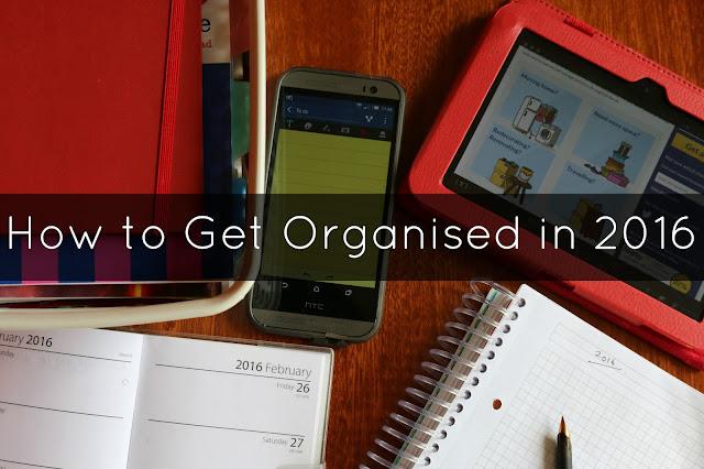 Ho to Get Organised in 2016