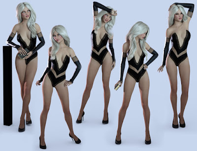 High Class Poses for Genesis 3 Female