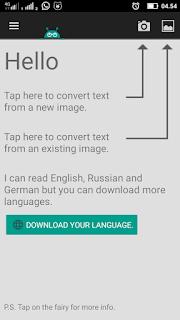Cara Cepat Copas Text Pada Buku Dengan Aplikasi Android