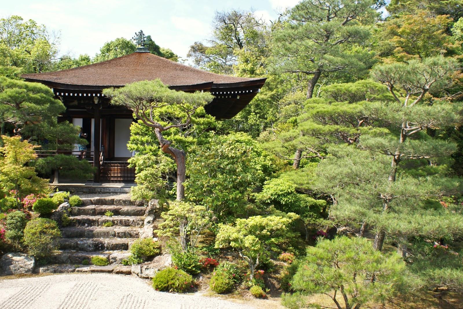 ninna ji temple garden kyoto japan