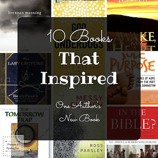 10 Books that Inspired one Author a Guest Post on Reading List