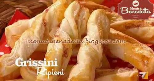 Ricetta Grissini Ripieni Con Pasta Sfoglia.Grissini Ripieni Ricetta Parodi Da I Menu Di Benedetta