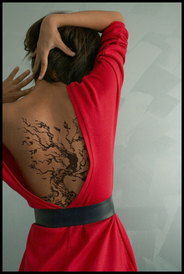 50 tree tattoo designs for men and women. Black Bedroom Furniture Sets. Home Design Ideas