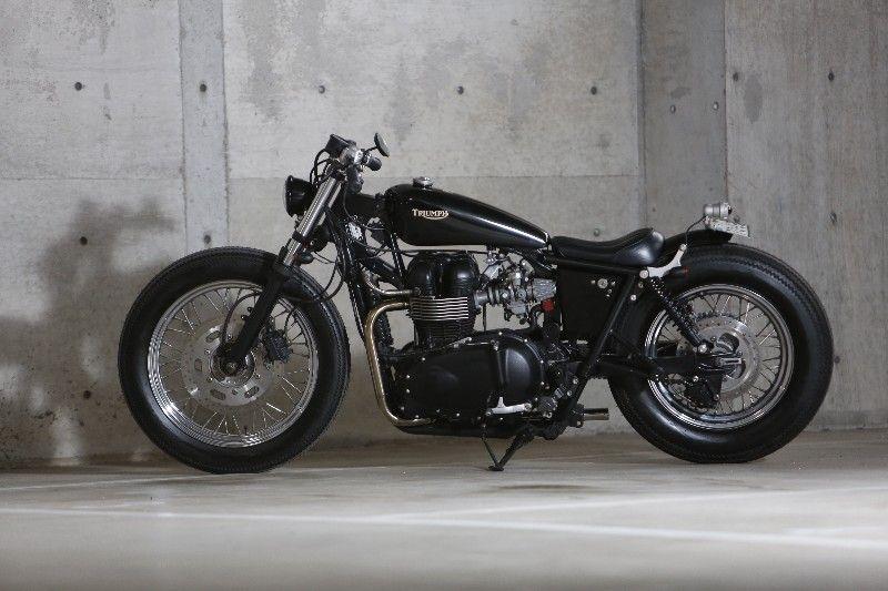 Triumph Bonneville T100 By Hiewa Mc