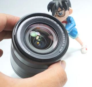 Jual Lensa Mirrorless Canon 18-55mm STM Bekas