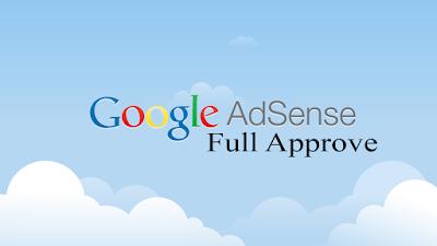 Daftar Google Adsense Ditolak 10x , dan Akhirnya Full Approve