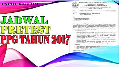 Jadwal Pretes PPG Atau Postest SIM PKB Tahun 2017