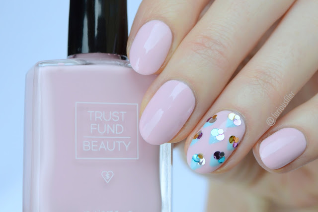 cornetto ice cream nail art pastel furious filer