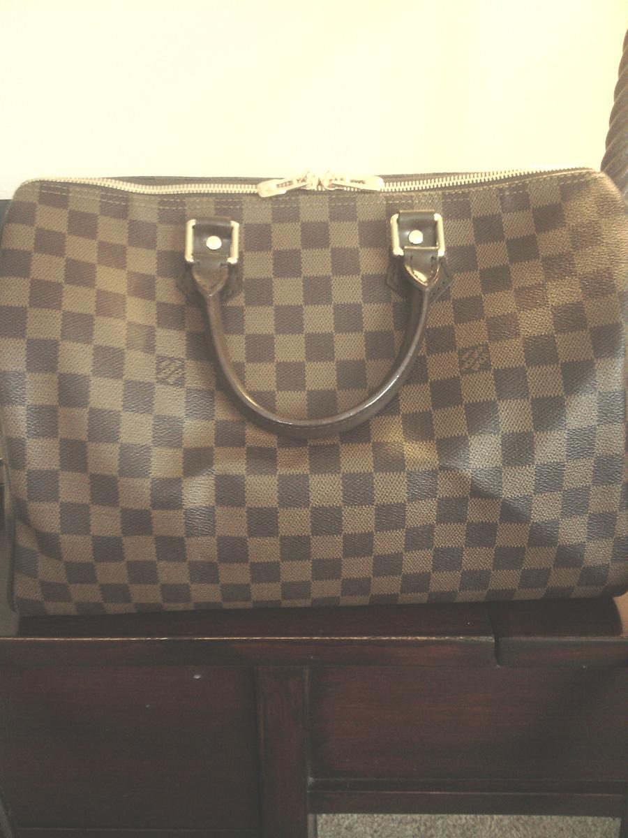 Louis Vuitton Damier Azur Speedy 35 Fake Vs Real Confederated