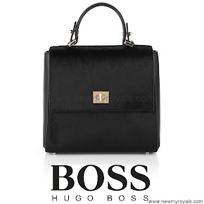 Queen Letizia style BOSS Medium Bag