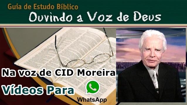 Estudo Biblico na Voz de Cid Moreira