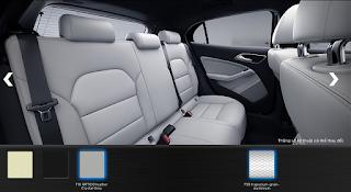 Nội thất Mercedes GLA 200 2018 màu Xám Crystal 108