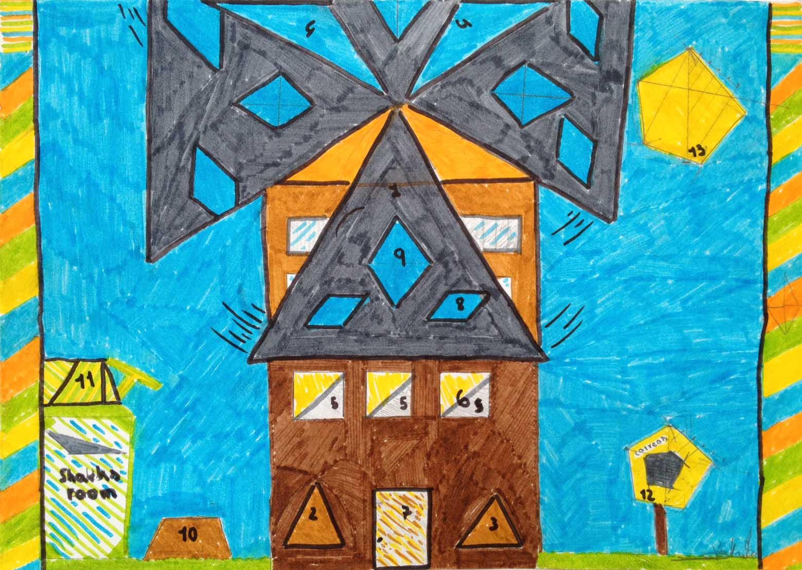 Colegio San José Dominicas: Colegio San José Dominicas: Geometría