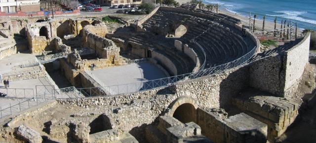 Detall de l'amfiteatre