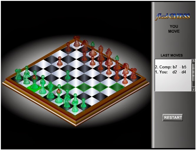 Flash 3D Chess-Game Permainan Catur 3D Online