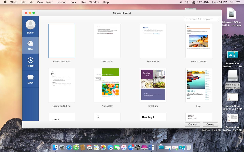 microsoft word free download for macbook air
