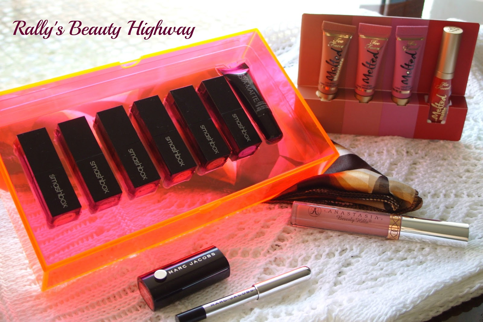 beauty HAUL, Anastasia Beverly Hills, Smashbox, Marc Jacobs, Too Faced, Sephora