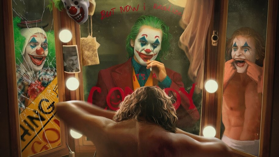 Joker, Movie, 2019, Clown, Joaquin Phoenix, 8K, #7.144