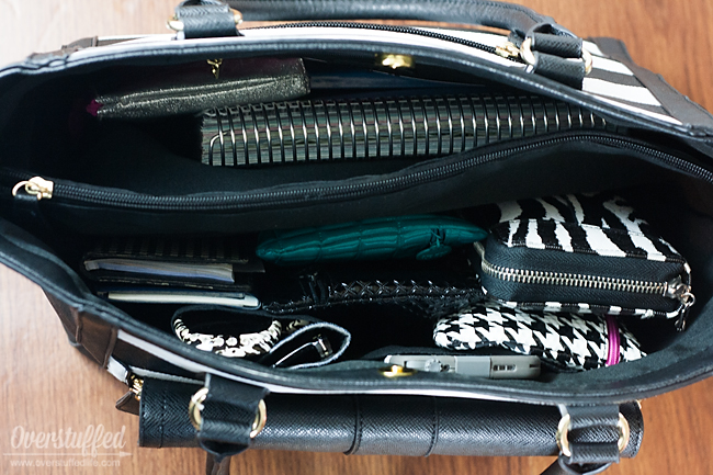 This easy organization trick will keep your purse organized forever.
