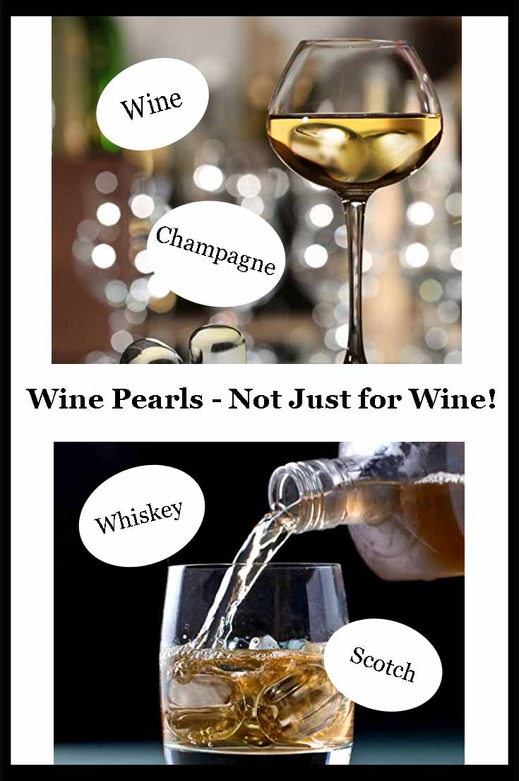 Wine Cooling Pearls - not just for wine!