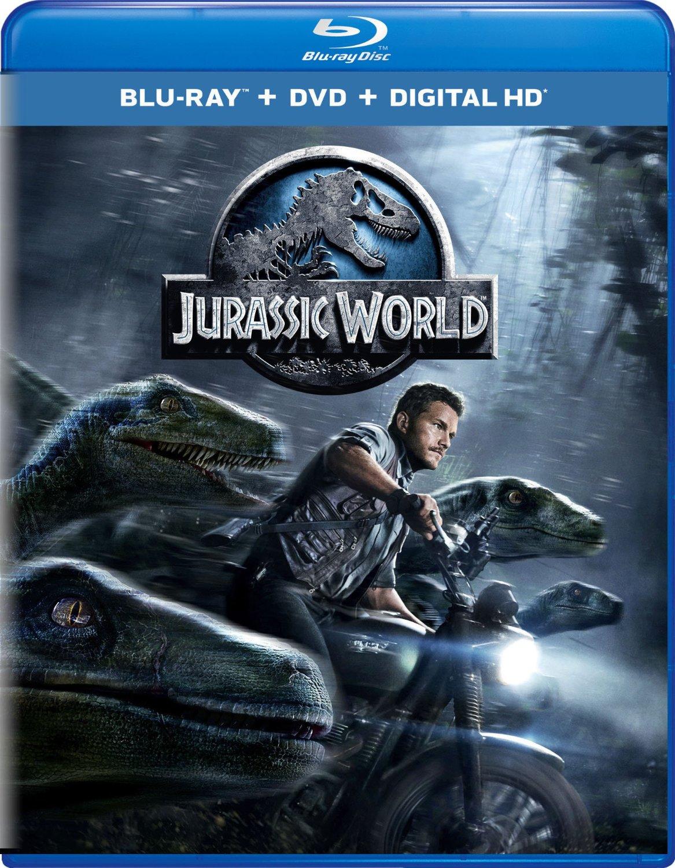Jurassic World Blu-ray Cover Caratula